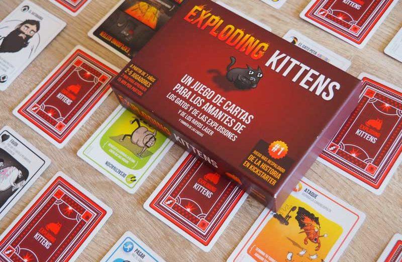 Exploding Kittens, el juego de mesa de la ruleta rusa gatuna