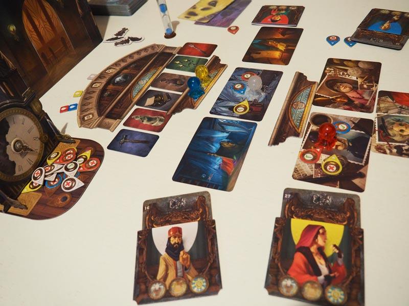 La partida avanza con normalidad en busca de las tres pistas de cada jugador