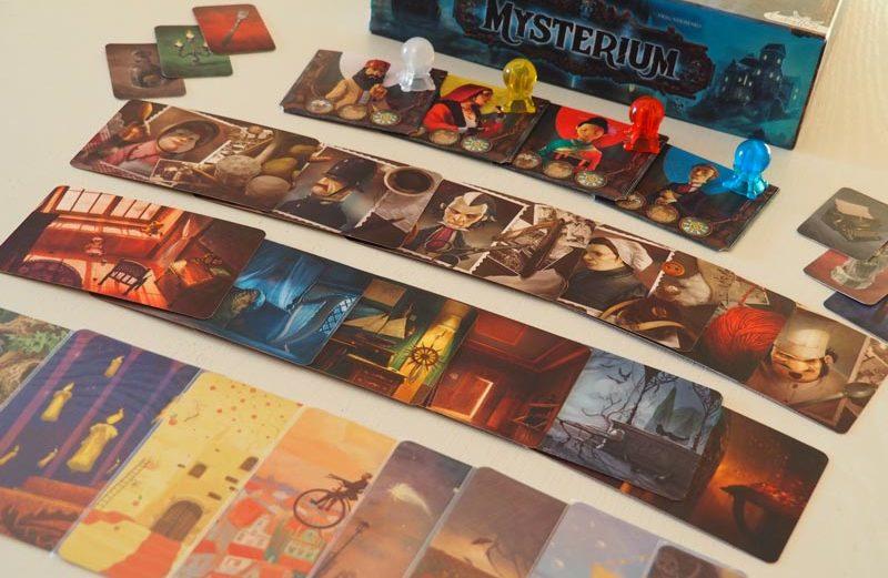 Mysterium, el juego de mesa que combina Dixit y Cluedo