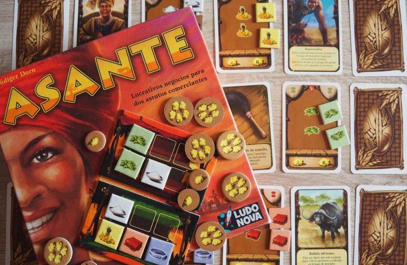 Asante, el juego de mesa donde no dar las gracias