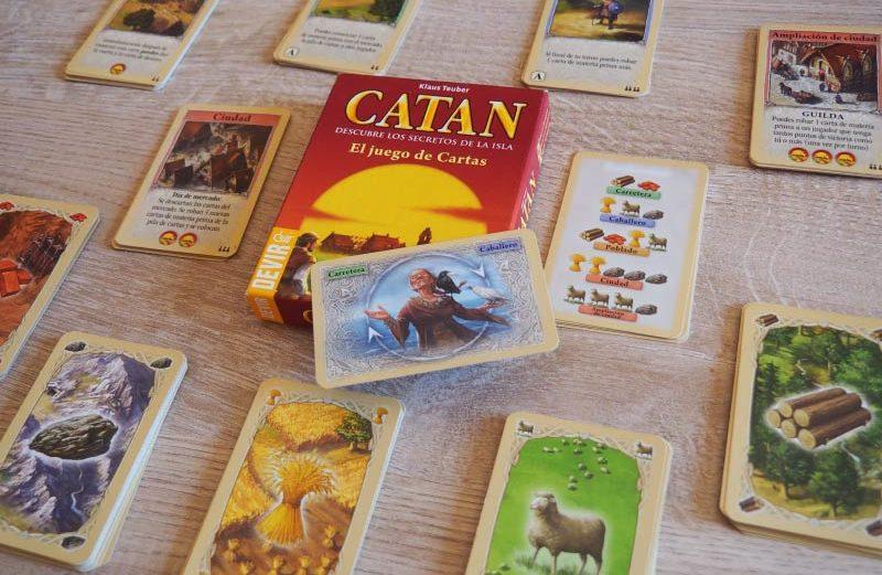 Catán, el juego de cartas (versión de bolsillo)
