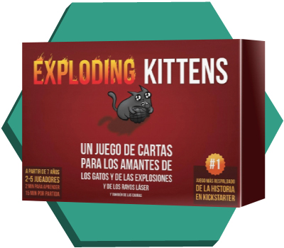 Portada de Exploding Kittens