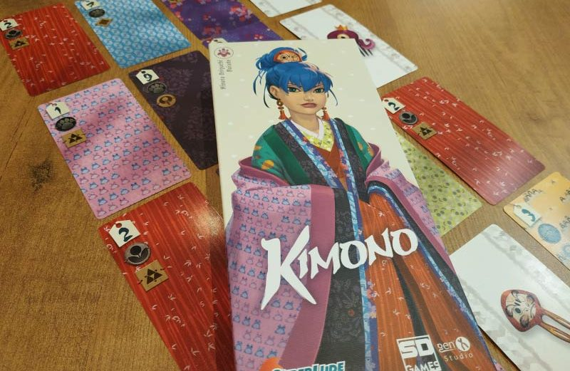 Kimono, el juego de mesa del arte japonés