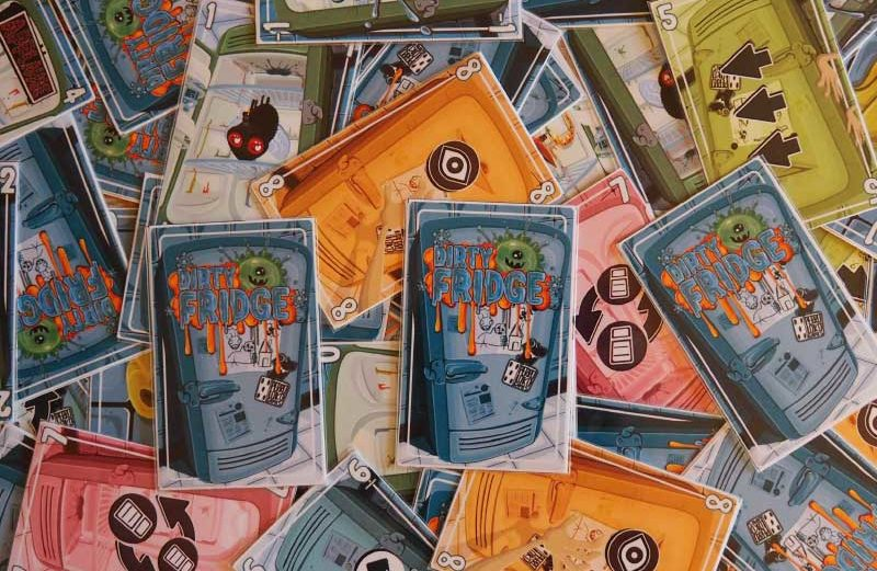 Dirty Fridge, imprime el juego de mesa de Perro Loko Games