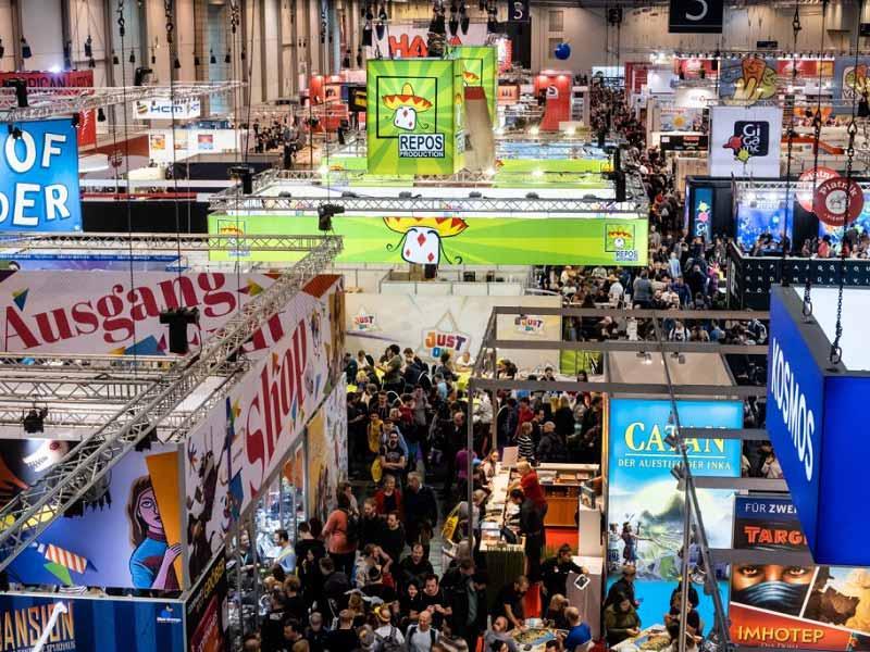 Imagen de la Feria de juegos de mesa Essen