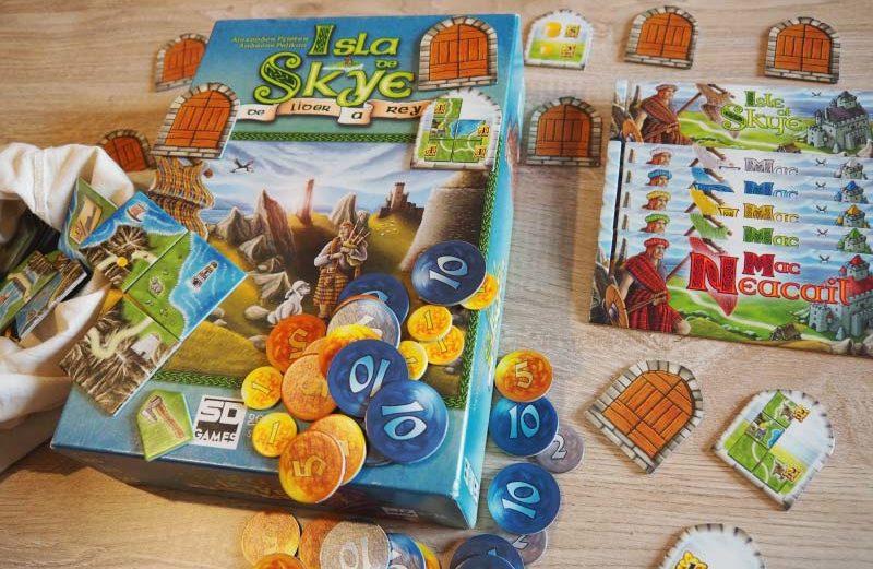 Isla de Skye, el juego de mesa de la mágica Escocia