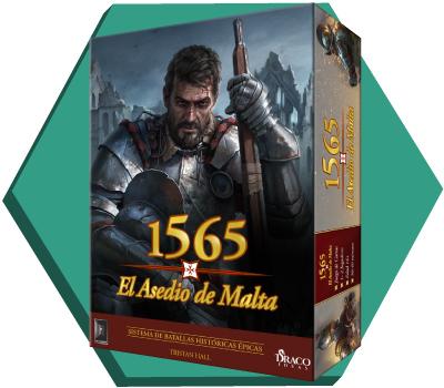 Portada de 1565: El Asedio de Malta