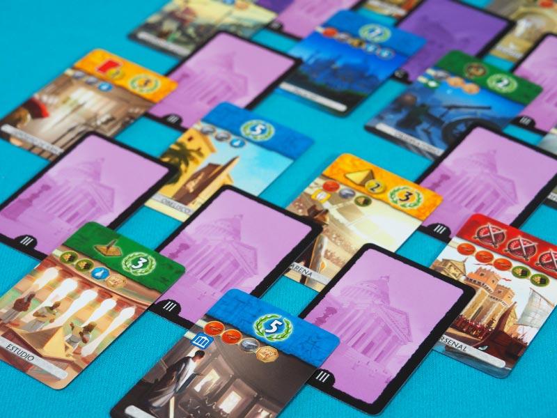 Zona de cartas que conforman la tercera y última Era