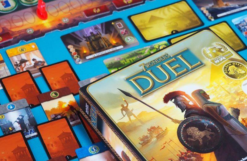 7 Wonders Duel, el juego de mesa de civilizaciones para dos
