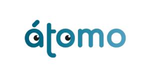 Átomo Games, logo de la editorial
