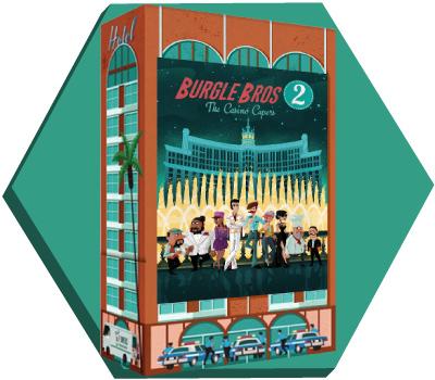 Portada de Burgle Bros 2: The Casino Capers