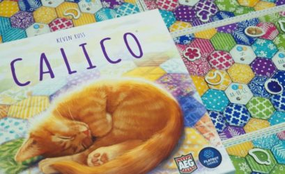 Calico, el juego de gatos entre retales de tela