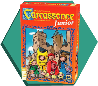 Portada de Carcassonne Junior