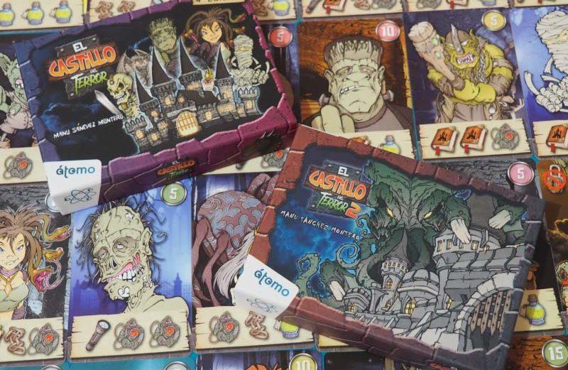 El Castillo del Terror, juego de mesa educativo para Halloween