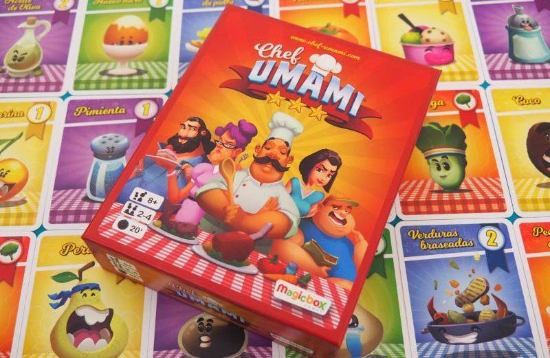 Chef Umami, el juego de mesa para elaborar el menú perfecto