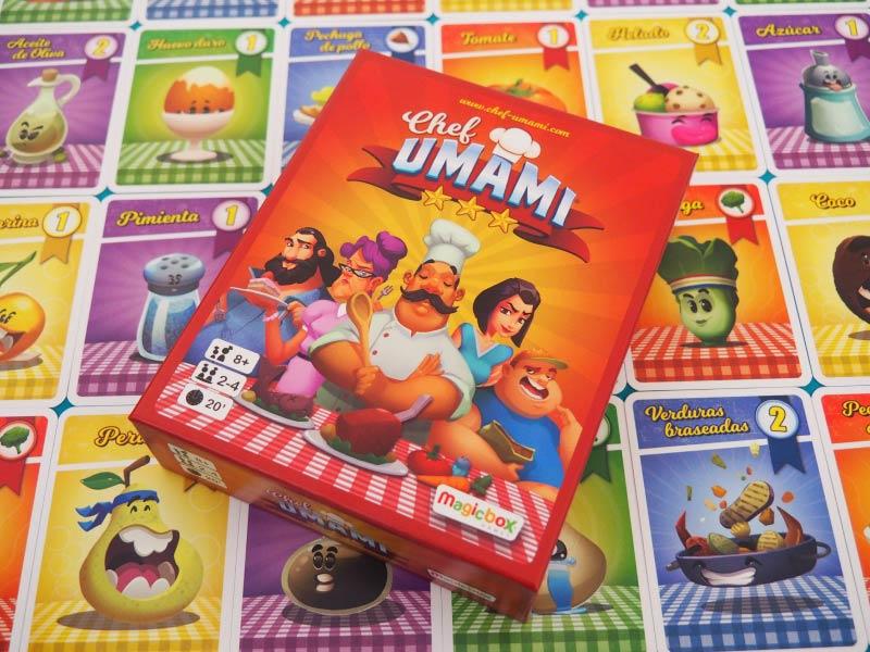 A la carrera para ser el nuevo cocinero del Chef Umami