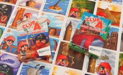 Club A y sus juegos educativos para aprender lógica e inglés