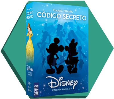 Portada de Código Secreto Disney