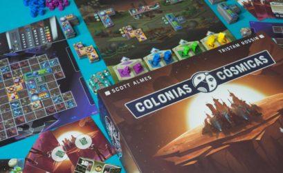 Colonias Cósmicas, el juego de cartas en órbita y ciudades en las estrellas
