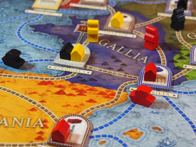 Movamos nuestros colonos para expandirnos por las ciudades del Imperio
