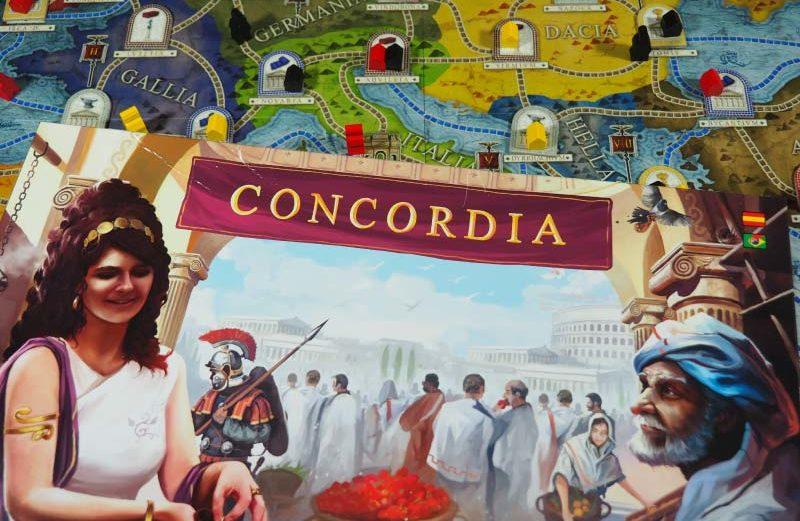 Concordia, el juego de mesa a la conquista del Mediterráneo