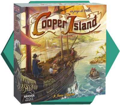 Portada de Cooper Island