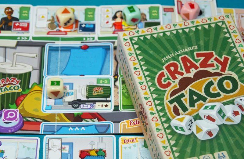 Crazy Taco, un juego de mesa al más puro estilo mexicano