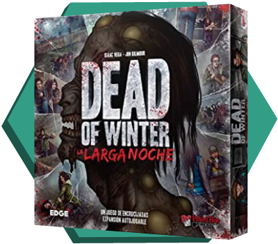 Portada de Dead of Winter: La Larga Noche