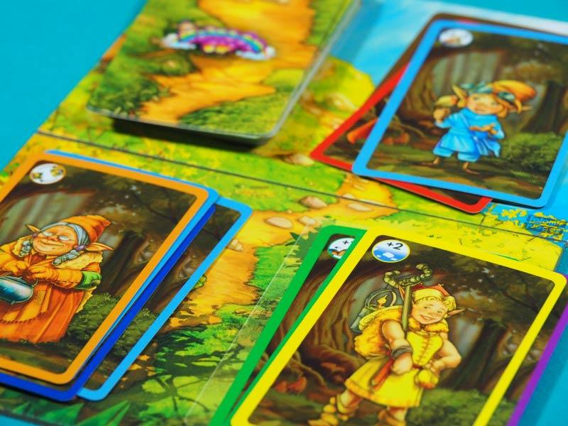 ¿Quién conseguirá los siete duendes de colores?