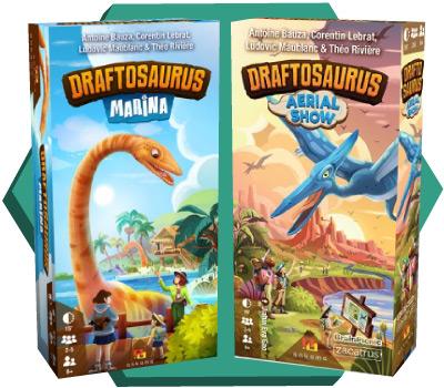 Portada de Draftosaurus Marina y Aerial Show