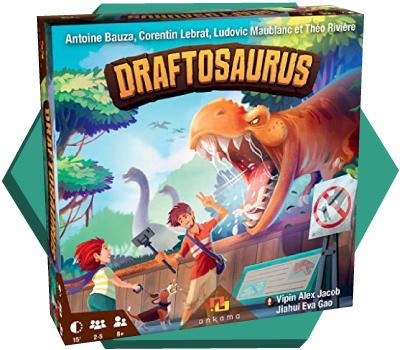 Portada de Draftosaurus