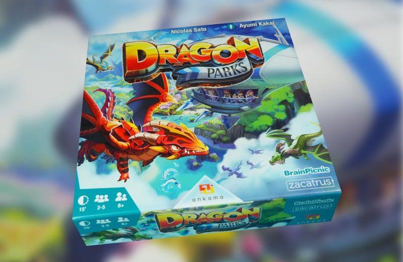 Dragon Parks, el juego de mesa entre animales fantásticos