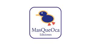 Ediciones MasQueOca, logo de la editorial