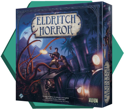 Portada de Eldritch Horror