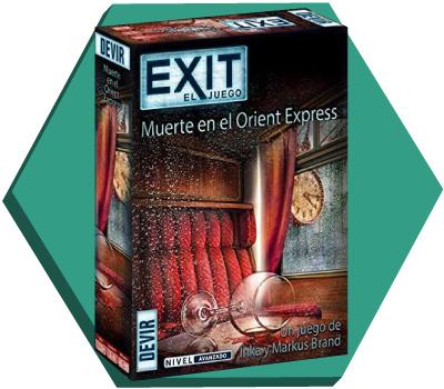 Portada de Exit: Muerte en el Orient Express
