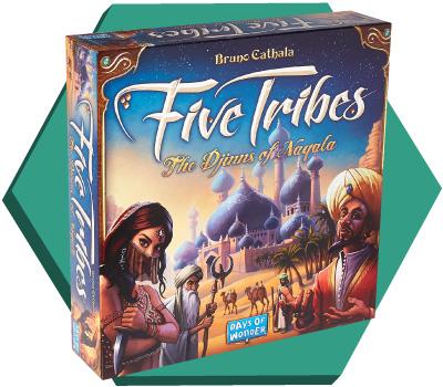Portada de Five Tribes