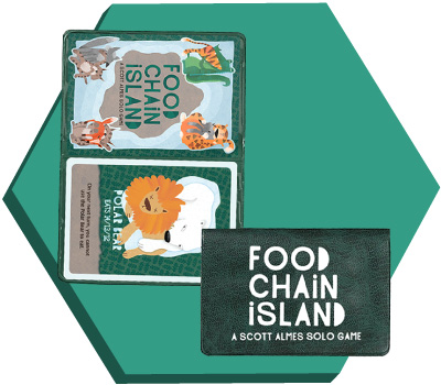 Portada de Food Chain Island