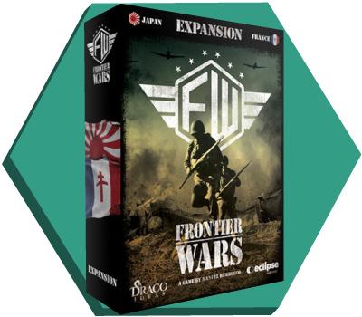 Portada de la expansión de Frontier Wars
