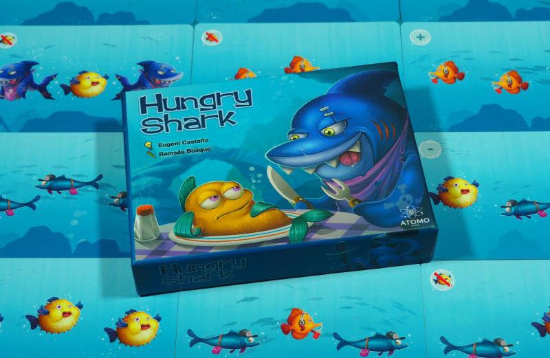 Hungry Shark, juego de mesa con veloces rescates acuáticos