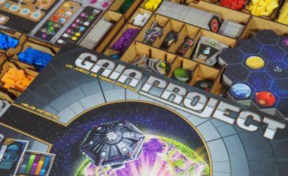 Inserto para organizar el juego de mesa Gaia Project