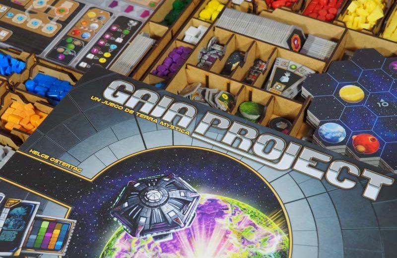 Inserto para el juego de mesa Gaia Project