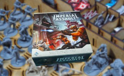 Inserto para organizar el juego de mesa Imperial Assault
