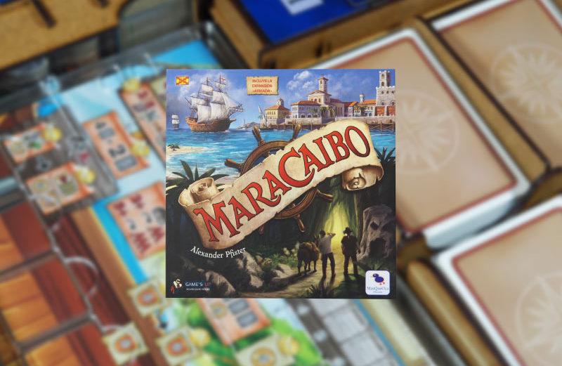 Inserto y organizadores para el juego de mesa Maracaibo