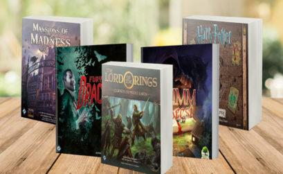 Top 10 de juegos de mesa que están basados en libros
