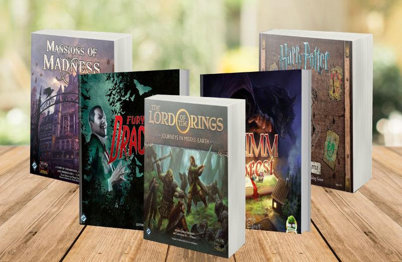 10 juegos de mesa basados en libros