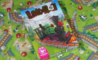 El push your luck de la locomotora aventurera