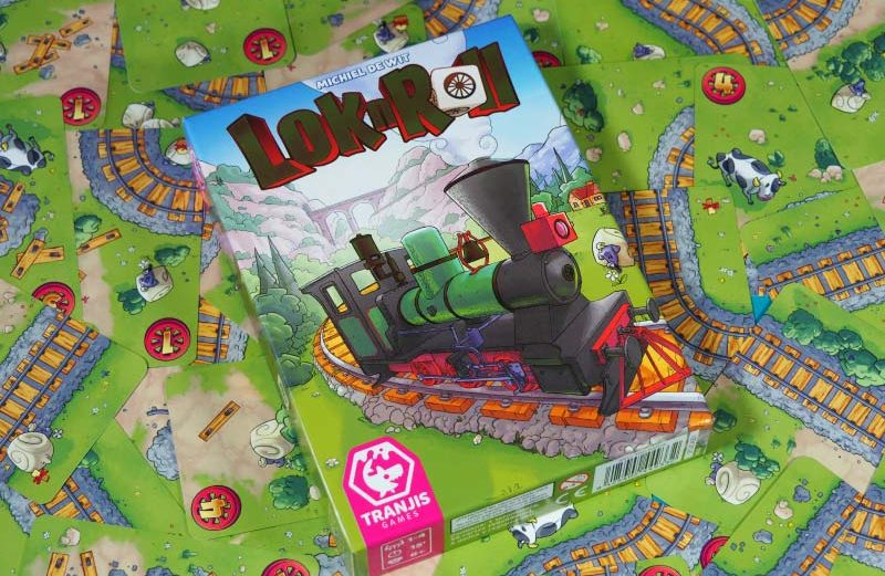 El push your luck de la locomotora aventurera