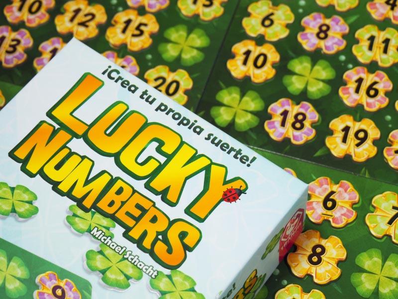 Lucky Numbers, el juego de mesa de tréboles de la suerte