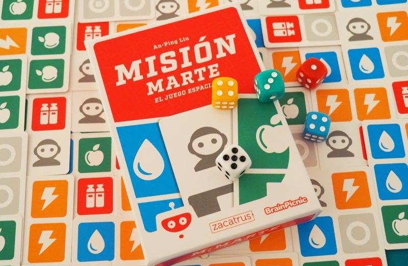 Misión Marte, el juego de mesa de organización espacial