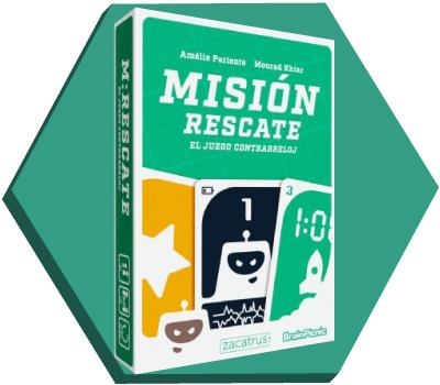 Portada de Misión Rescate